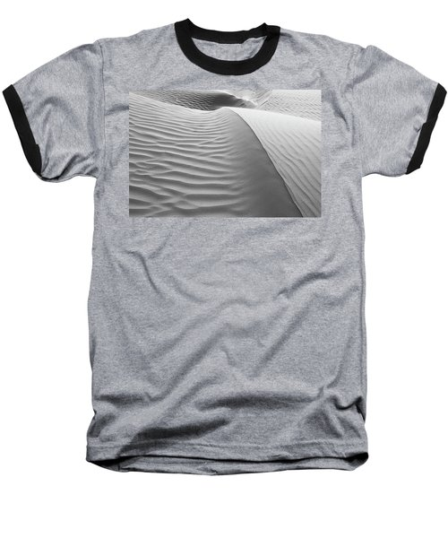Skn 1414 The Rhythmic Demarcations Baseball T-Shirt by Sunil Kapadia
