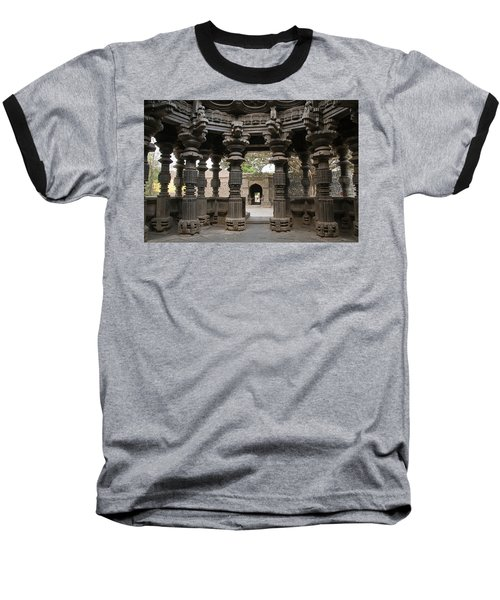 Skn 1960 Pillared Interior Baseball T-Shirt