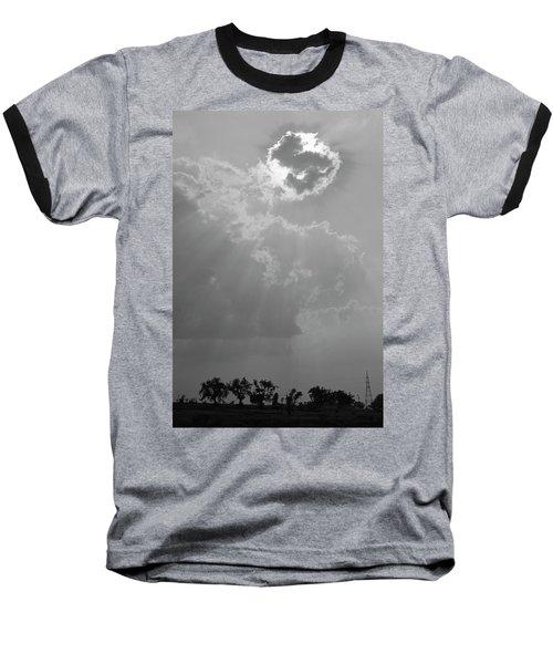 Skn 2170 Blessings Showered Baseball T-Shirt by Sunil Kapadia