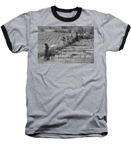 Skn 2611 Joint Effort Bw Baseball T-Shirt