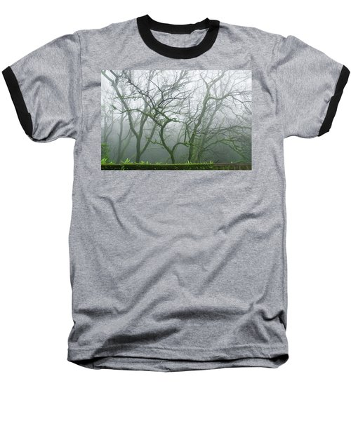 Skn 3720 Monsoon Landscape Baseball T-Shirt