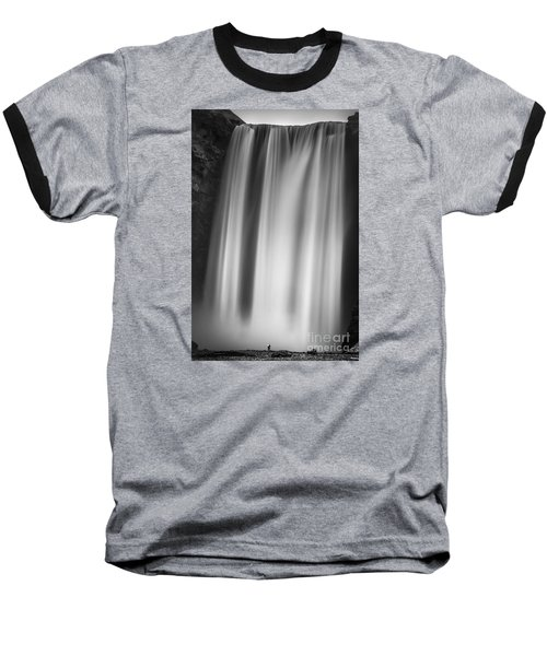 Skogarfoss Iceland Baseball T-Shirt