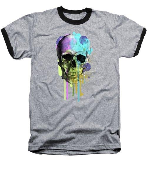 Skull 6 Baseball T-Shirt
