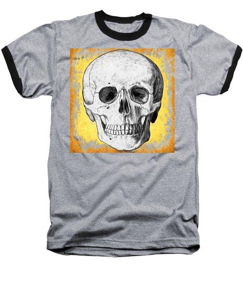 Skull Baseball T-Shirt by Alice Gipson