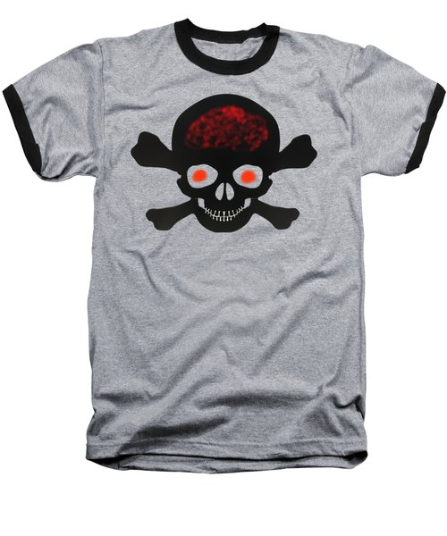 Skull And Bones Baseball T-Shirt
