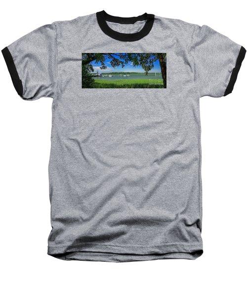 Skull Creek Area Baseball T-Shirt by Paul Mashburn