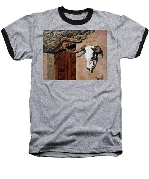 Skull En La Casa Baseball T-Shirt