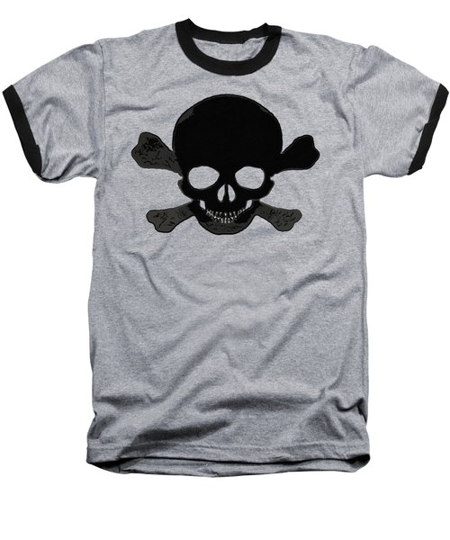Skull Madness Baseball T-Shirt