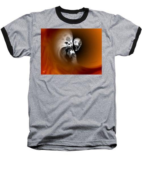 Skull Scope 2 Baseball T-Shirt