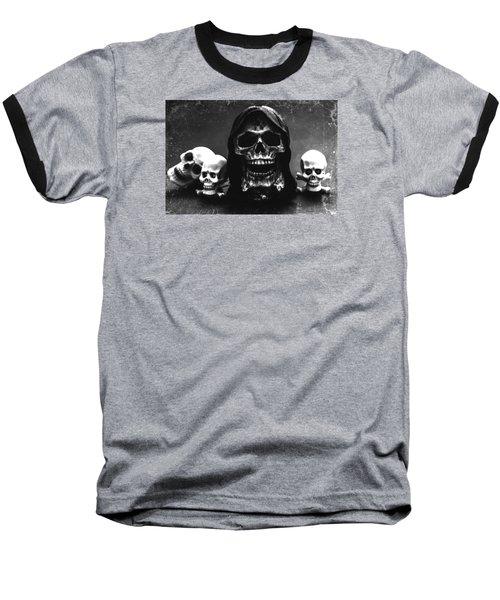 Skulls Baseball T-Shirt