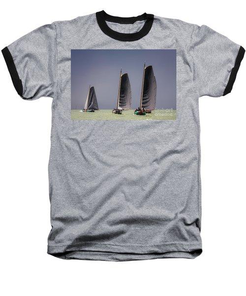 Skutsje Wedstrijd Voor De Wind Baseball T-Shirt