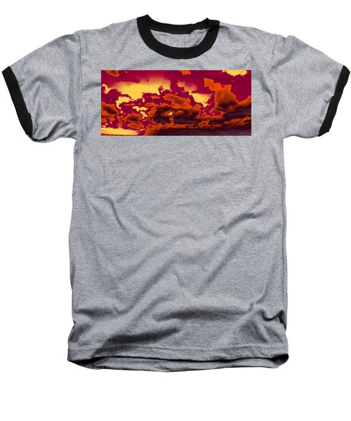 Sky #4 Baseball T-Shirt