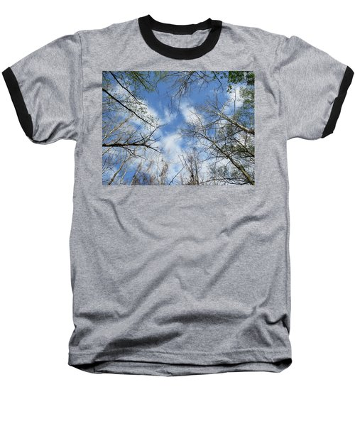 Sky Above Baseball T-Shirt