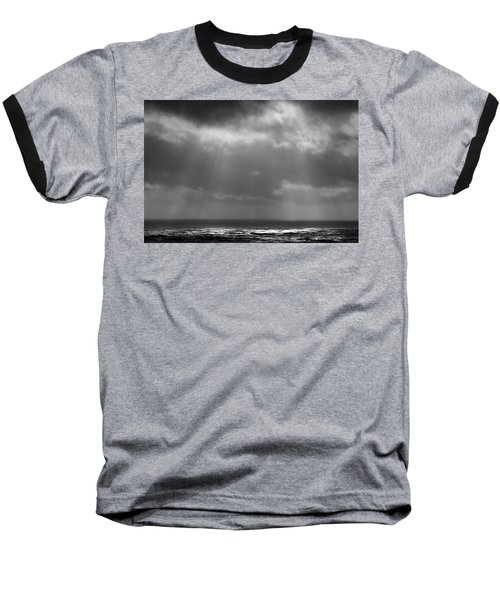 Baseball T-Shirt featuring the photograph Sky And Ocean by Ryan Manuel