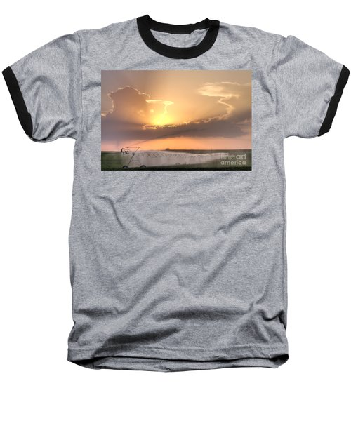Sky And Water Baseball T-Shirt