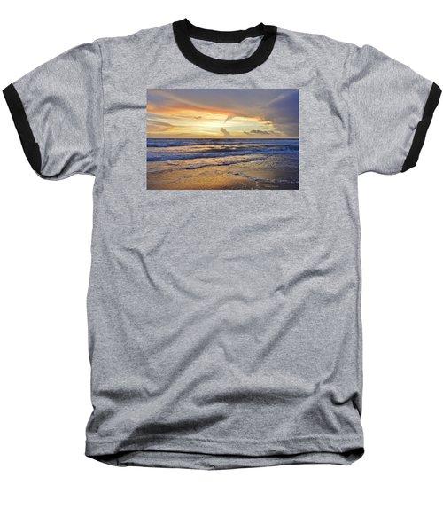 Sky Art Baseball T-Shirt