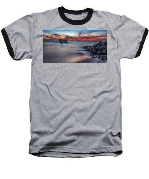 Sky Colors Baseball T-Shirt