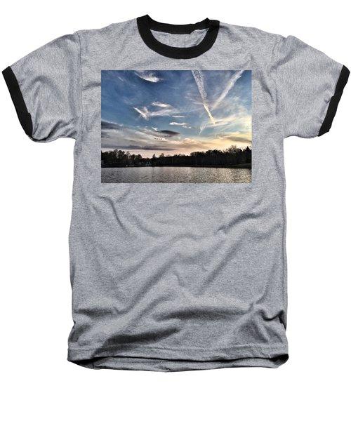Sky Drama Baseball T-Shirt