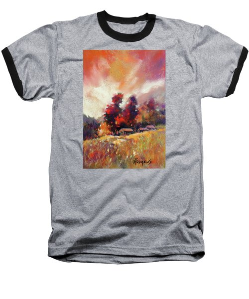 Sky Fall Baseball T-Shirt