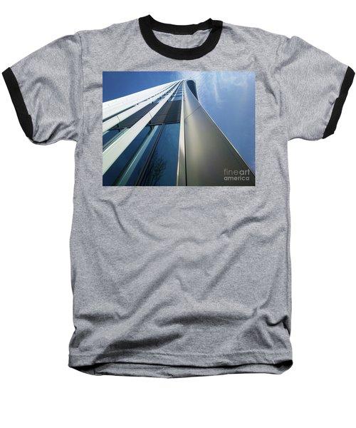 Baseball T-Shirt featuring the photograph Sky Garden - London by Hanza Turgul
