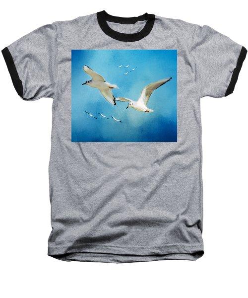 Sky High Flight Baseball T-Shirt