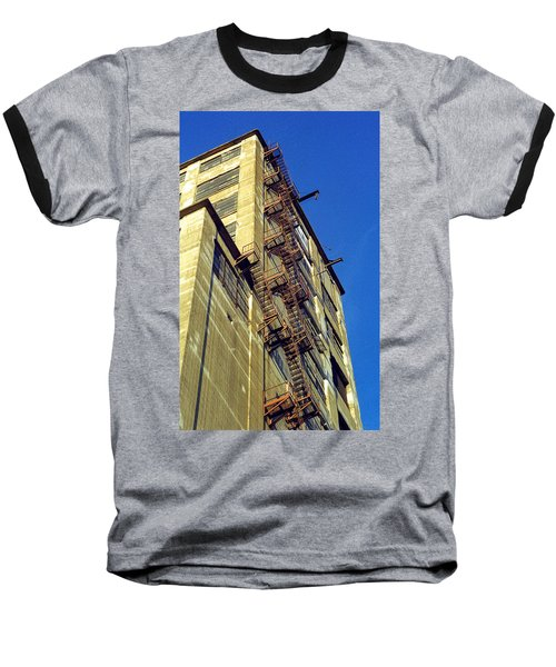 Sky High Warehouse Baseball T-Shirt