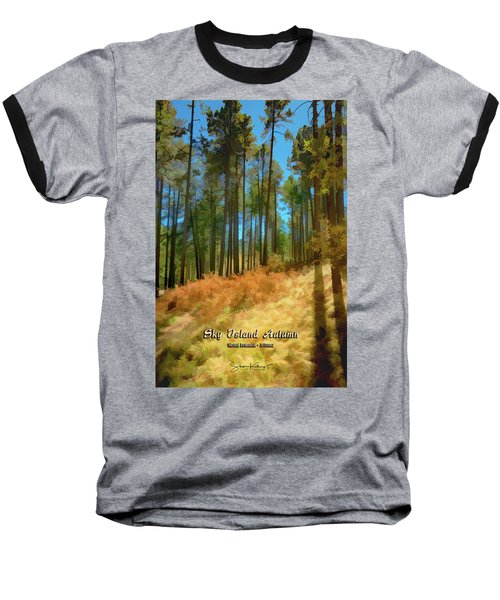 Sky Island Autumn Baseball T-Shirt