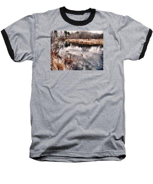 Sky Low Baseball T-Shirt by Betsy Zimmerli