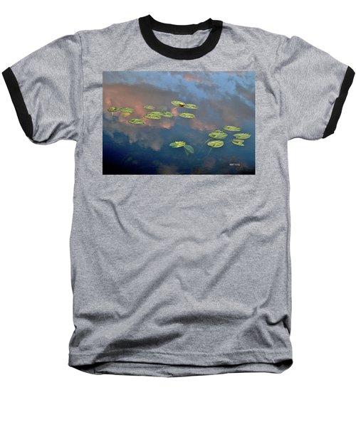 Sky Meets Water Baseball T-Shirt