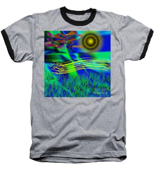 Sky Of Mind Baseball T-Shirt