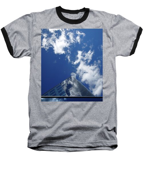 Sky Pyramid Baseball T-Shirt
