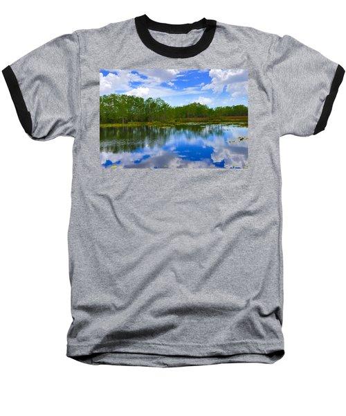 Sky Reflections Baseball T-Shirt
