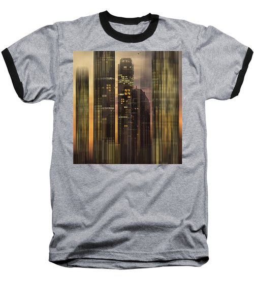 Baseball T-Shirt featuring the photograph Sky Scrapers by Vladimir Kholostykh