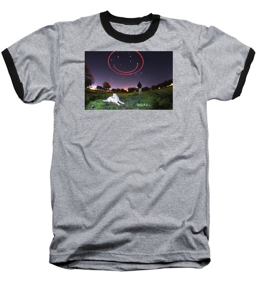 Sky Smile Baseball T-Shirt
