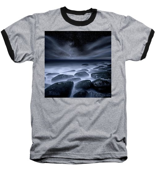 Baseball T-Shirt featuring the photograph Sky Spirits by Jorge Maia