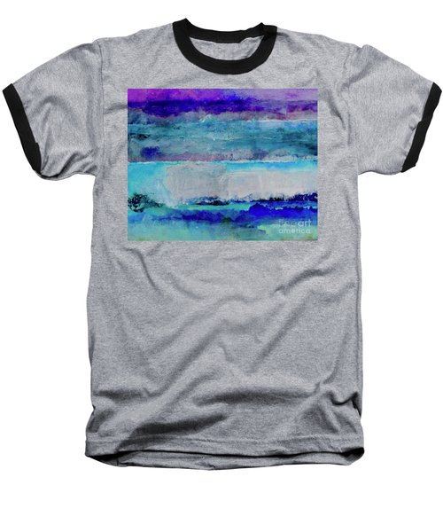 Sky Striations Baseball T-Shirt