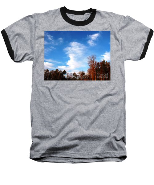 Baseball T-Shirt featuring the photograph Sky Study 1 3/11/16 by Melissa Stoudt