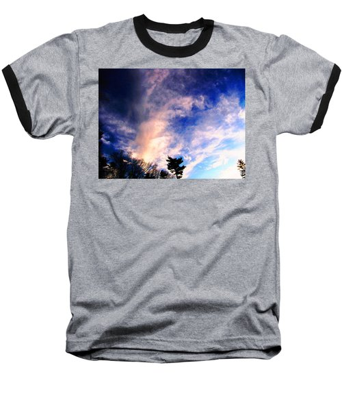 Baseball T-Shirt featuring the photograph Sky Study 5 3/11/16 by Melissa Stoudt