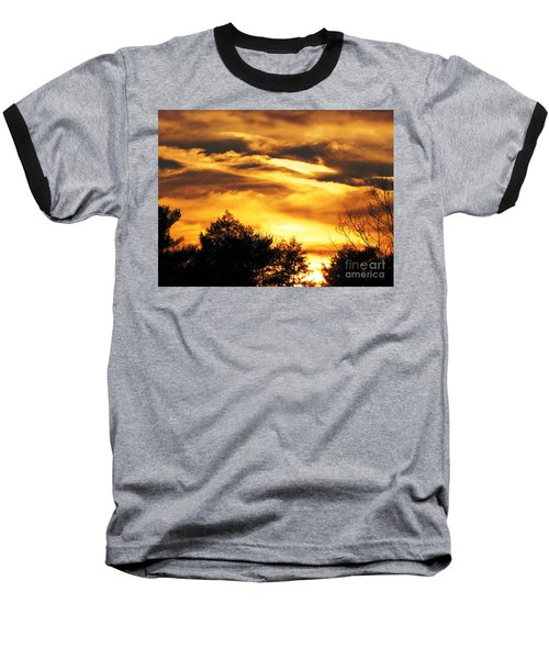 Baseball T-Shirt featuring the photograph Sky Study 7 3/11/16 by Melissa Stoudt