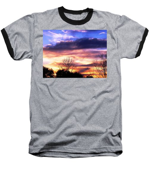 Baseball T-Shirt featuring the photograph Sky Study 8 3/11/16 by Melissa Stoudt