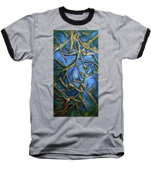Sky Through The Trees Baseball T-Shirt by Angela Stout