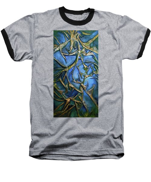 Sky Through The Trees Baseball T-Shirt