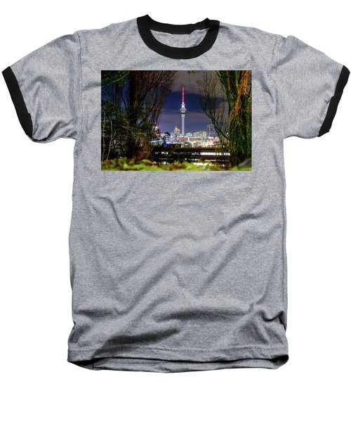 Sky Tower Baseball T-Shirt