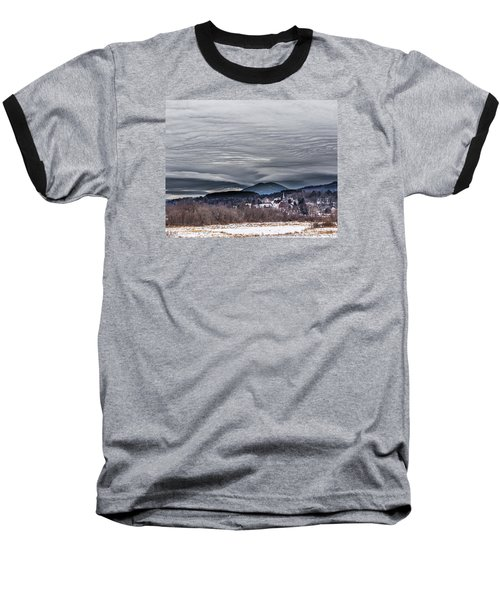 Sky Waves Baseball T-Shirt by Tim Kirchoff