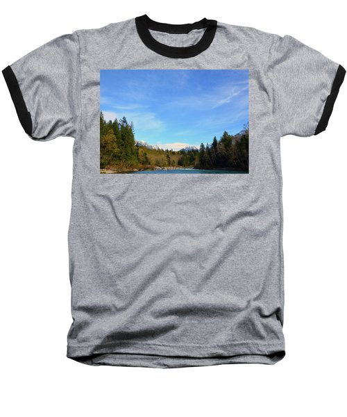 Skykomish River And Persis Baseball T-Shirt