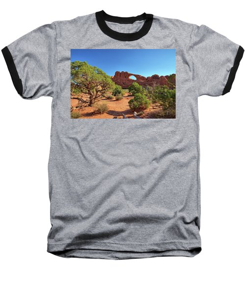Skyline Arch Baseball T-Shirt