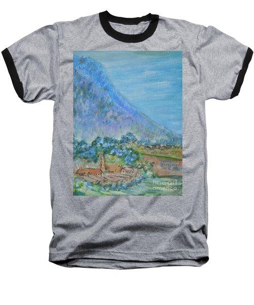 Skyline Drive Begins Baseball T-Shirt by Judith Espinoza