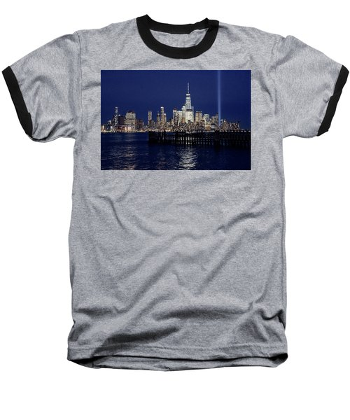 Skyline Lights Baseball T-Shirt