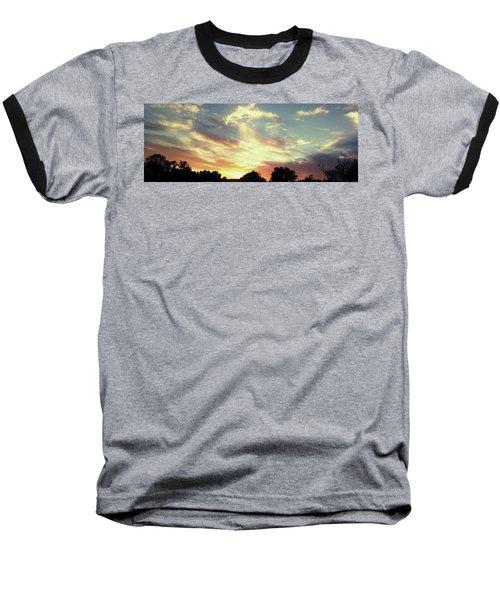 Skyscape Baseball T-Shirt