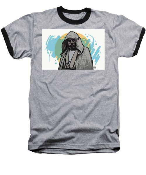Baseball T-Shirt featuring the digital art Skywalker Returns by Antonio Romero